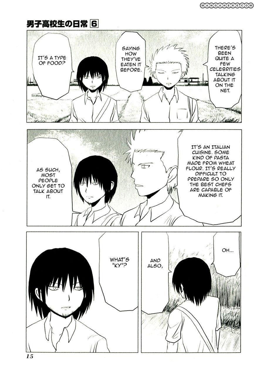 Danshi Koukousei no Nichijou 83 Page 3
