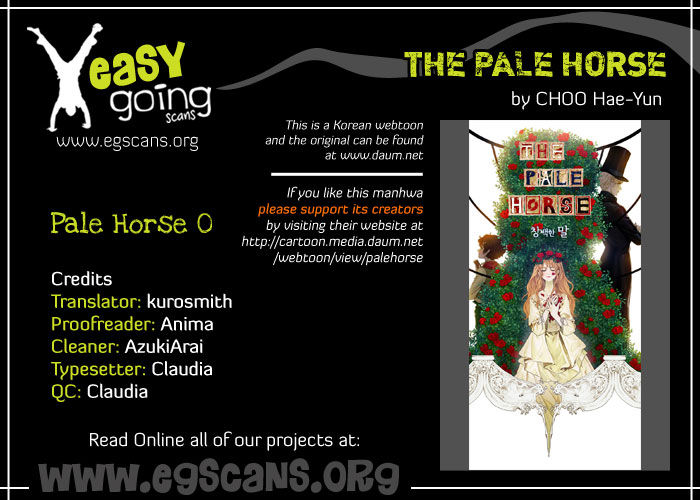 The Pale Horse 1.5 Page 1