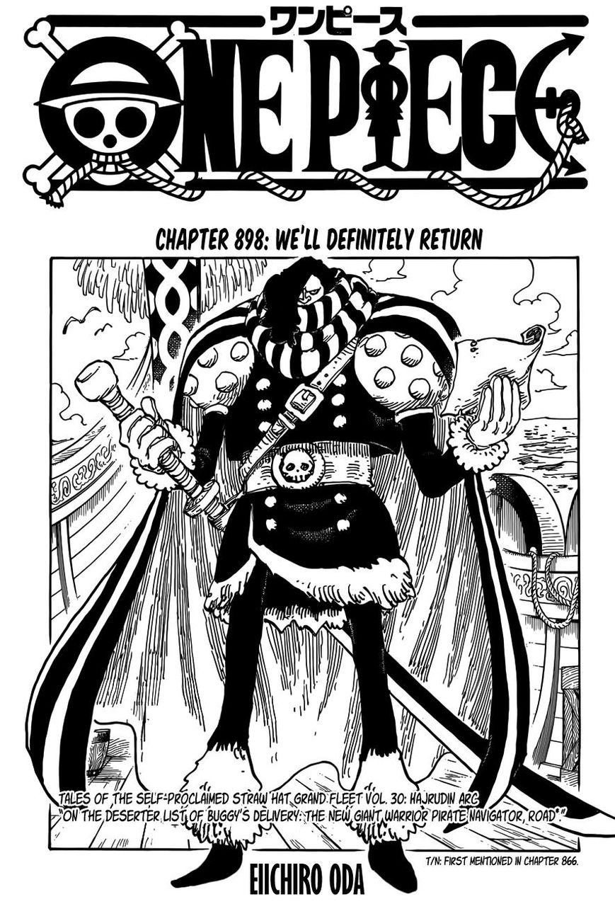 One Piece 898 Page 1