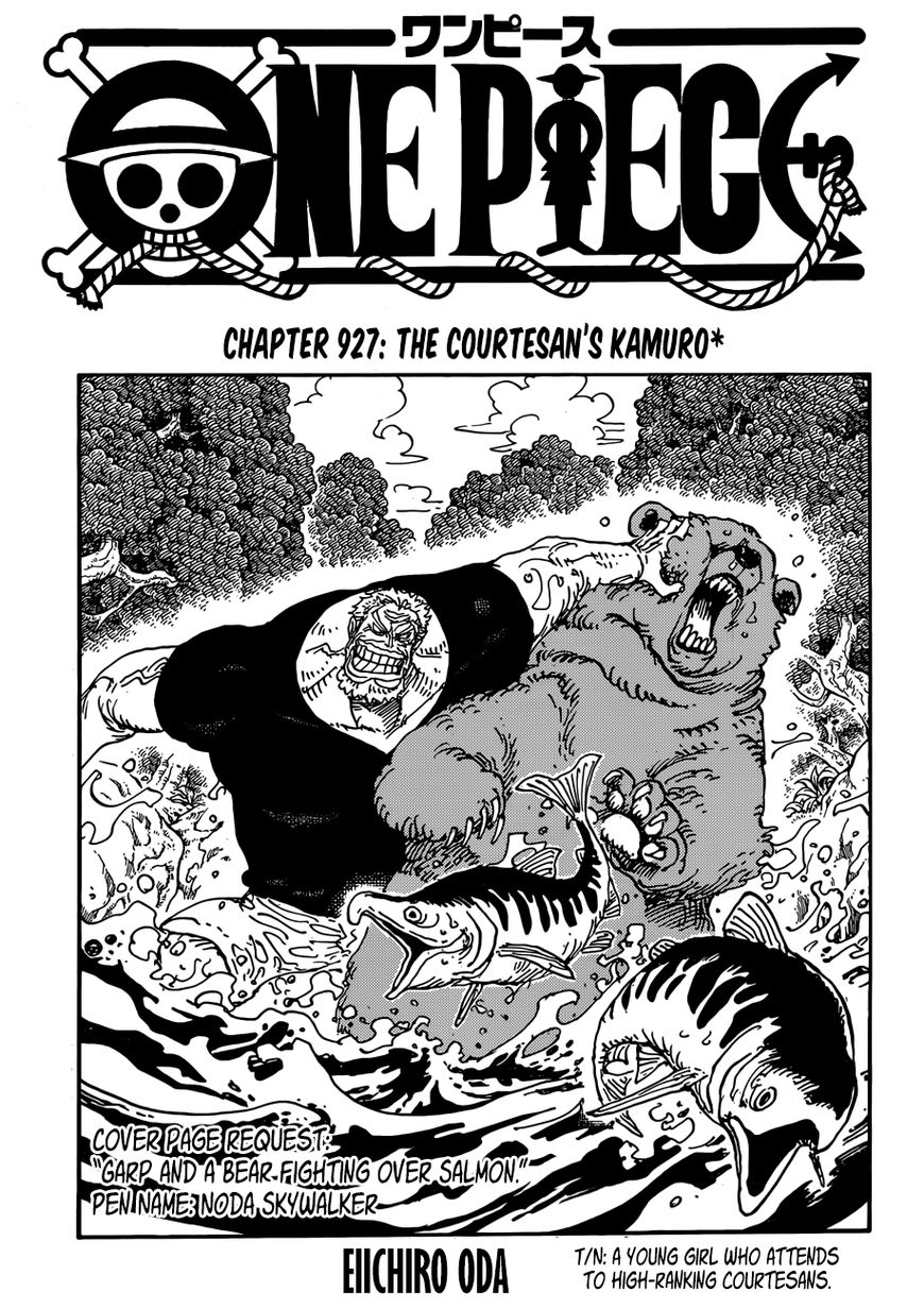 One Piece 927 Page 1