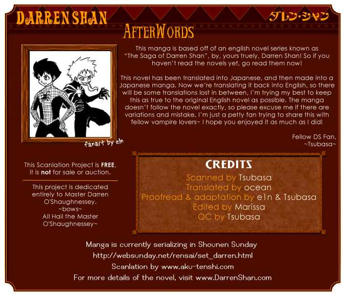 Darren Shan 2 Page 1