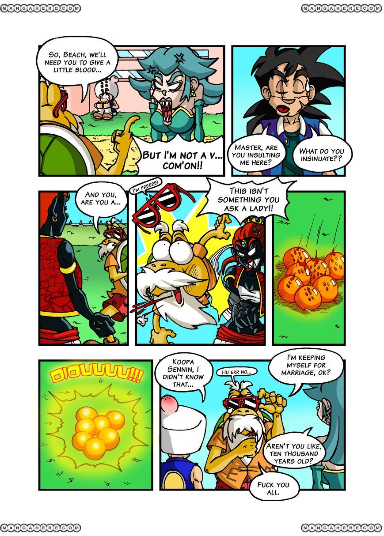 Super Dragon Bros Z 5 Page 1