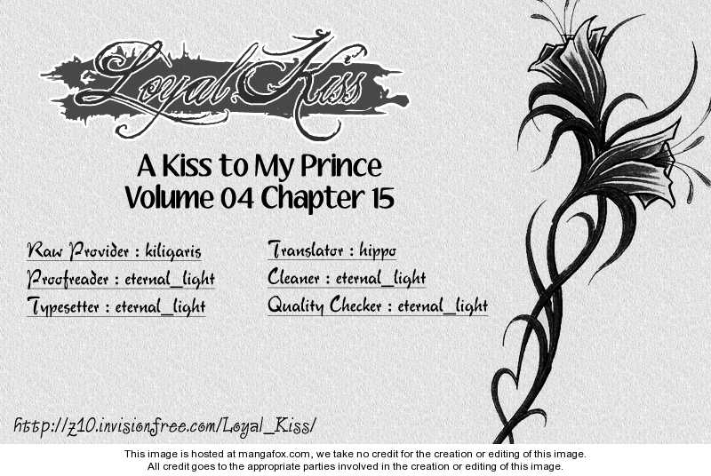 A Kiss To My Prince 15 Page 1