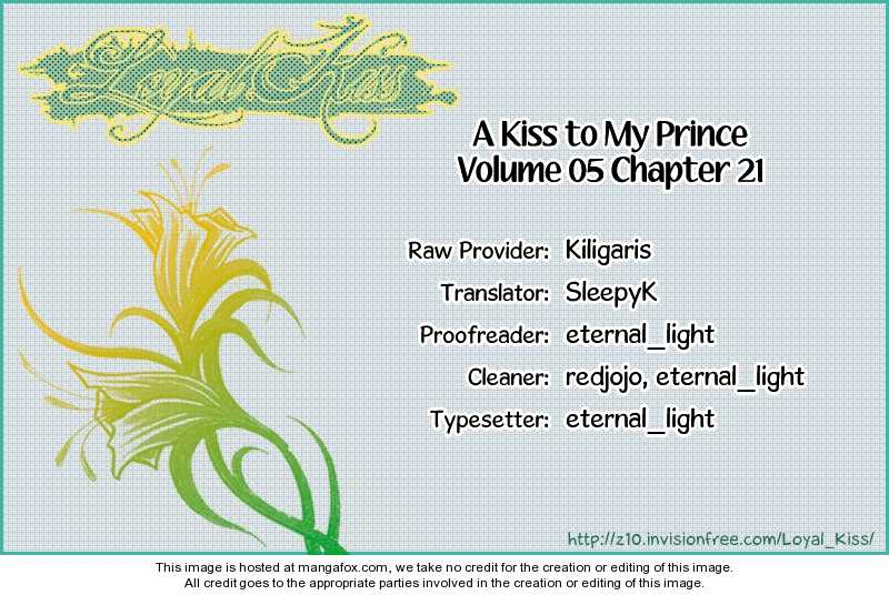 A Kiss To My Prince 21 Page 1