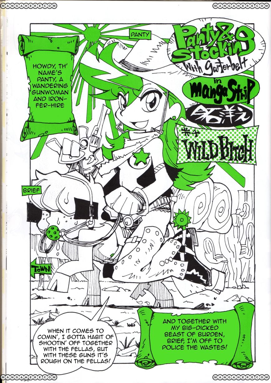 Panty & Stocking with Garterbelt in Manga Strip 4 Page 1
