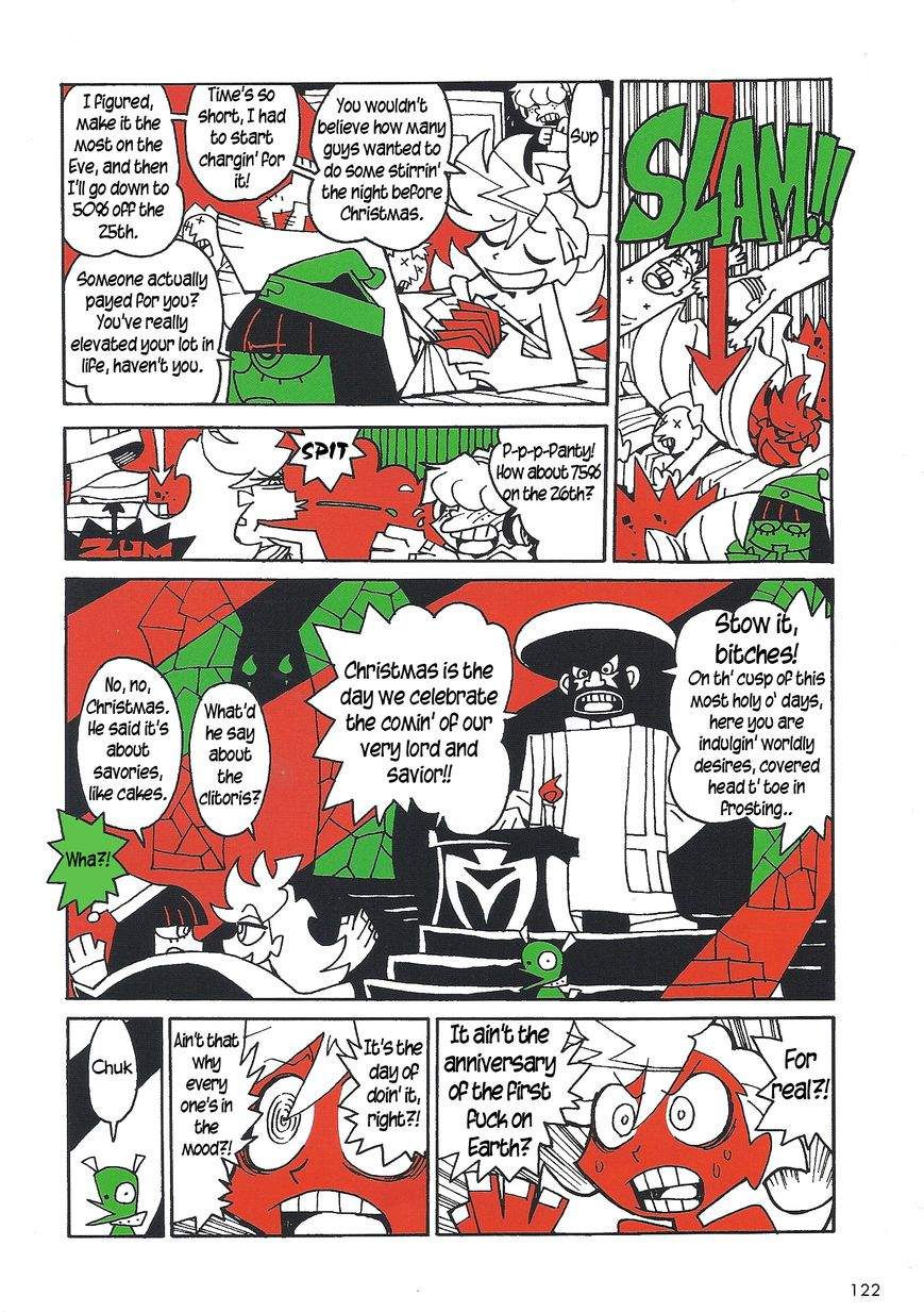 Panty & Stocking with Garterbelt in Manga Strip 4.5 Page 2