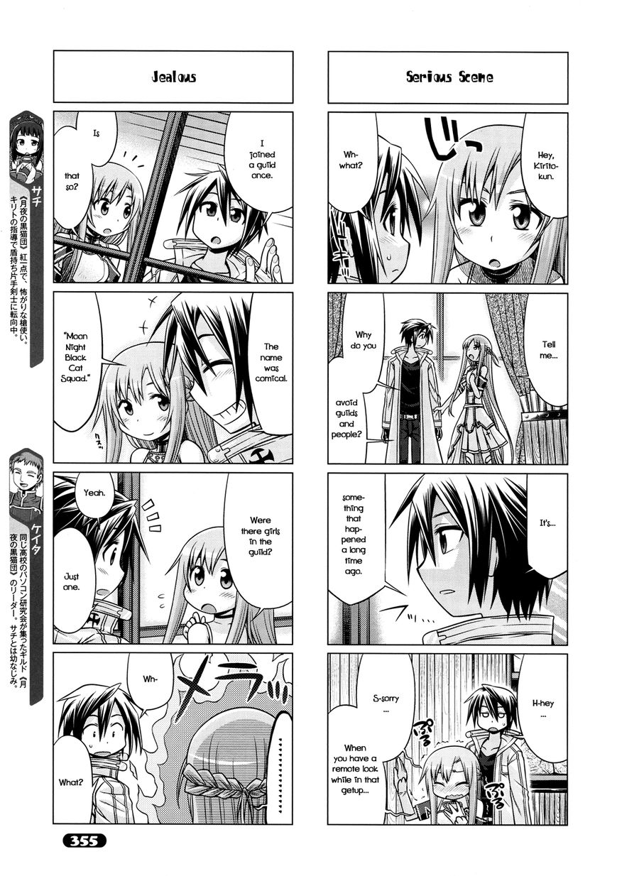 Sword Art Online 4-koma 9 Page 3