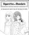 Cigarettes ≠ Chocolate