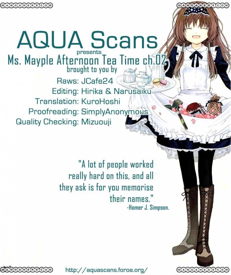 Mayple-san no Koucha Jikan 2 Page 1