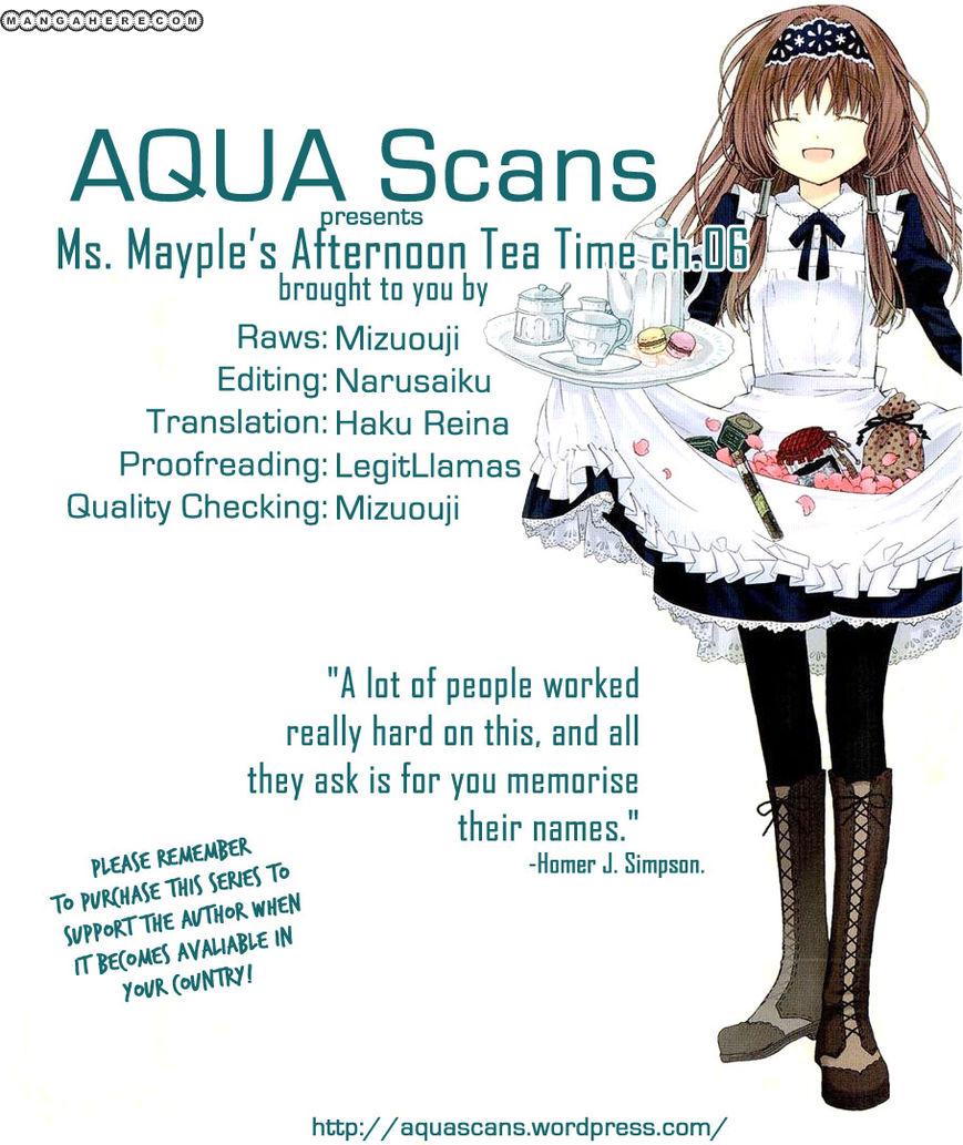 Mayple-san no Koucha Jikan 6 Page 1