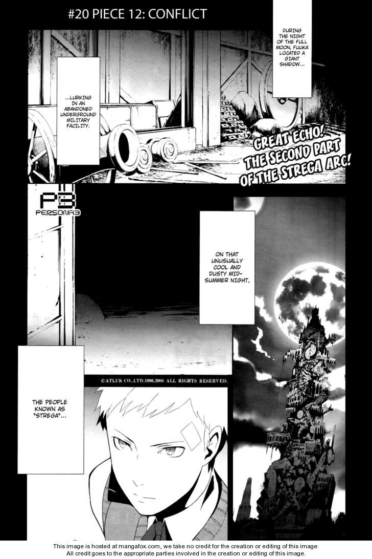 Persona 3 20 Page 1