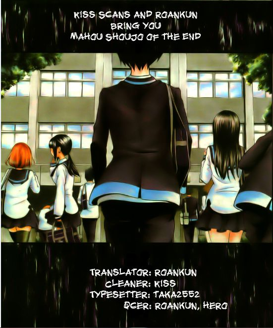Mahou Shoujo of the End 4 Page 1