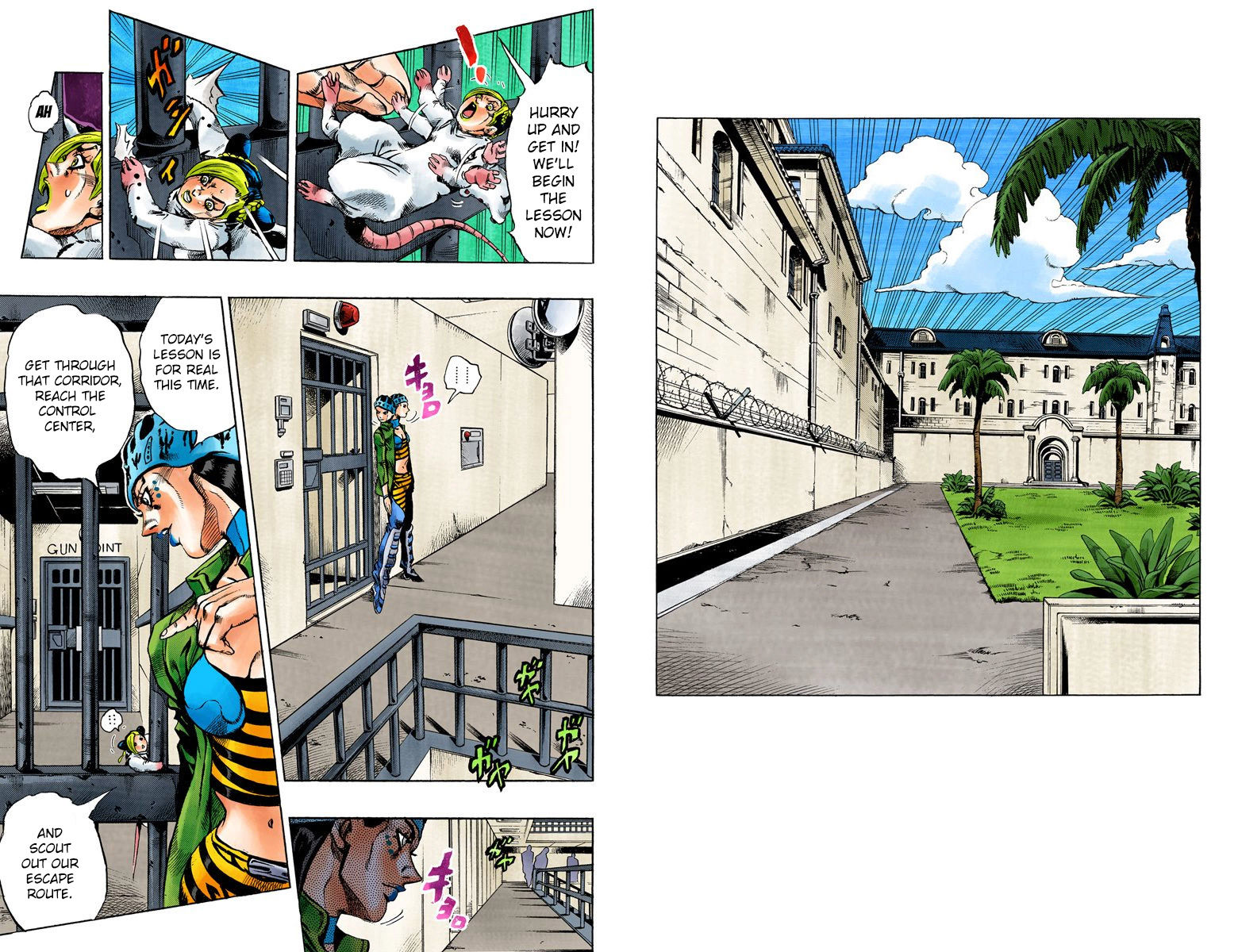 JoJo's Bizarre Adventure Part 6: Stone Ocean 7 Page 2
