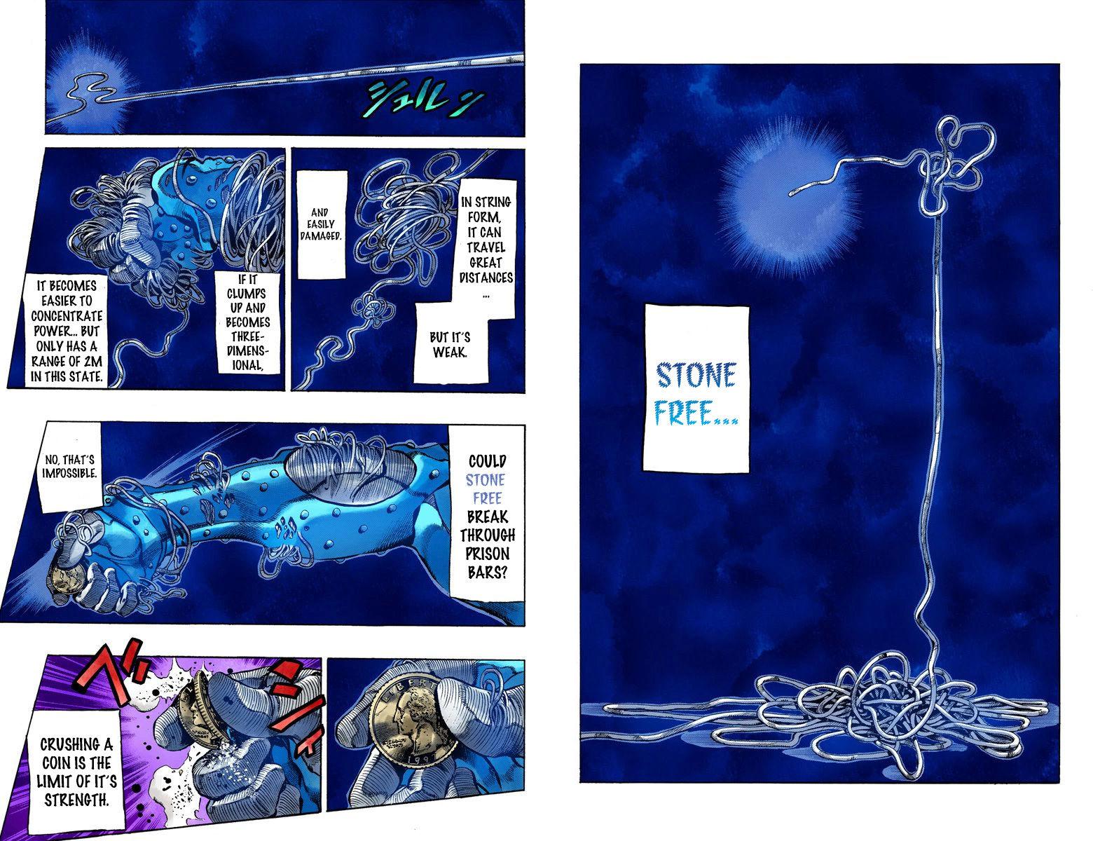 JoJo's Bizarre Adventure Part 6: Stone Ocean 10 Page 2