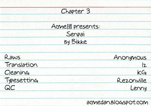 Senpai 3 Page 1