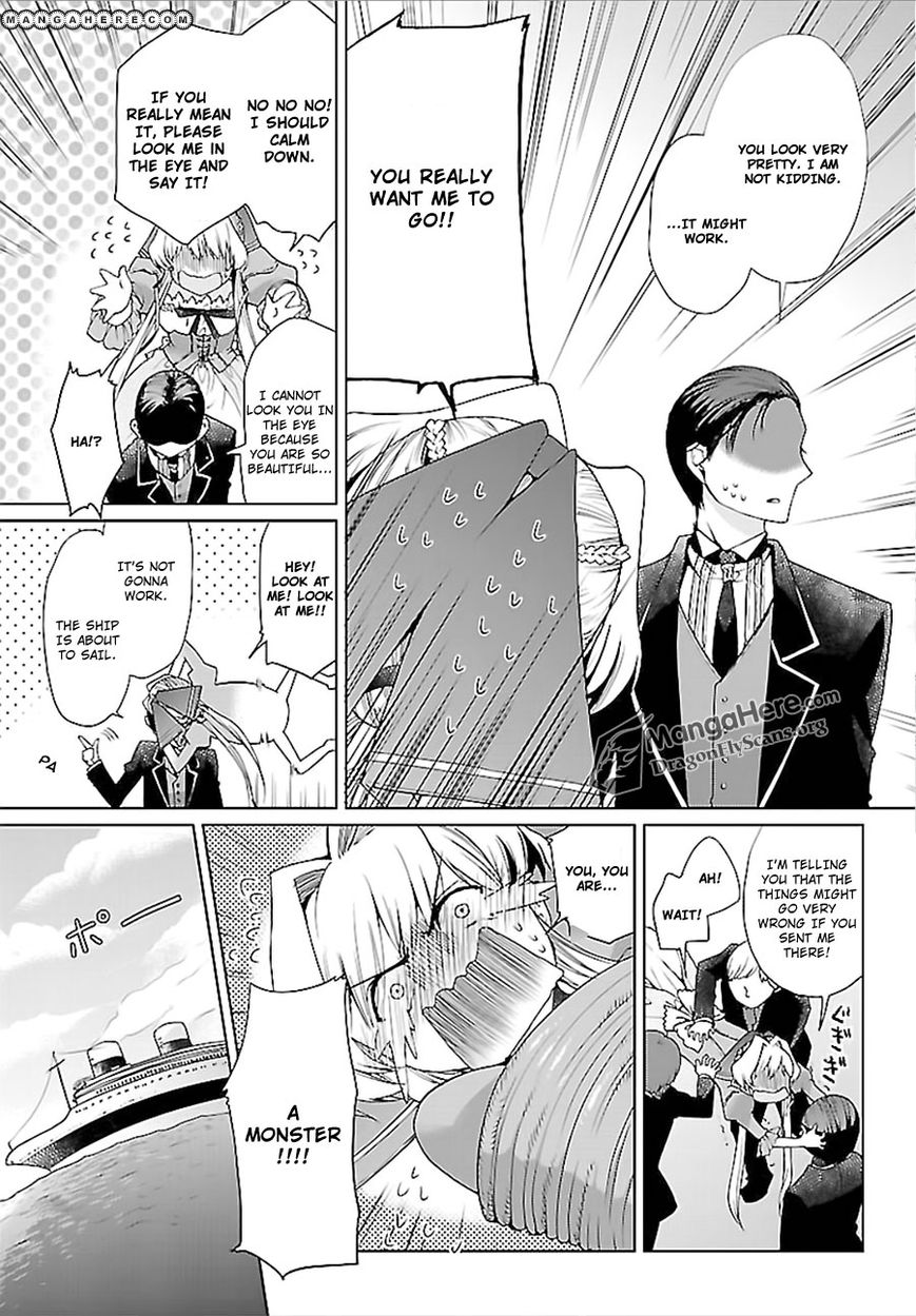 I'm a royal tutor in my sister's dress 8.5 Page 4