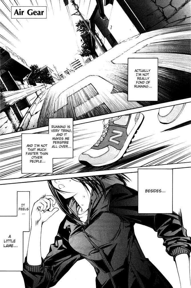 Air Gear 80 Page 1