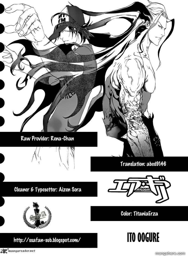 Air Gear 316 Page 1