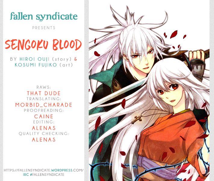 Sengoku Blood - Bara no Keiyaku 18 Page 1