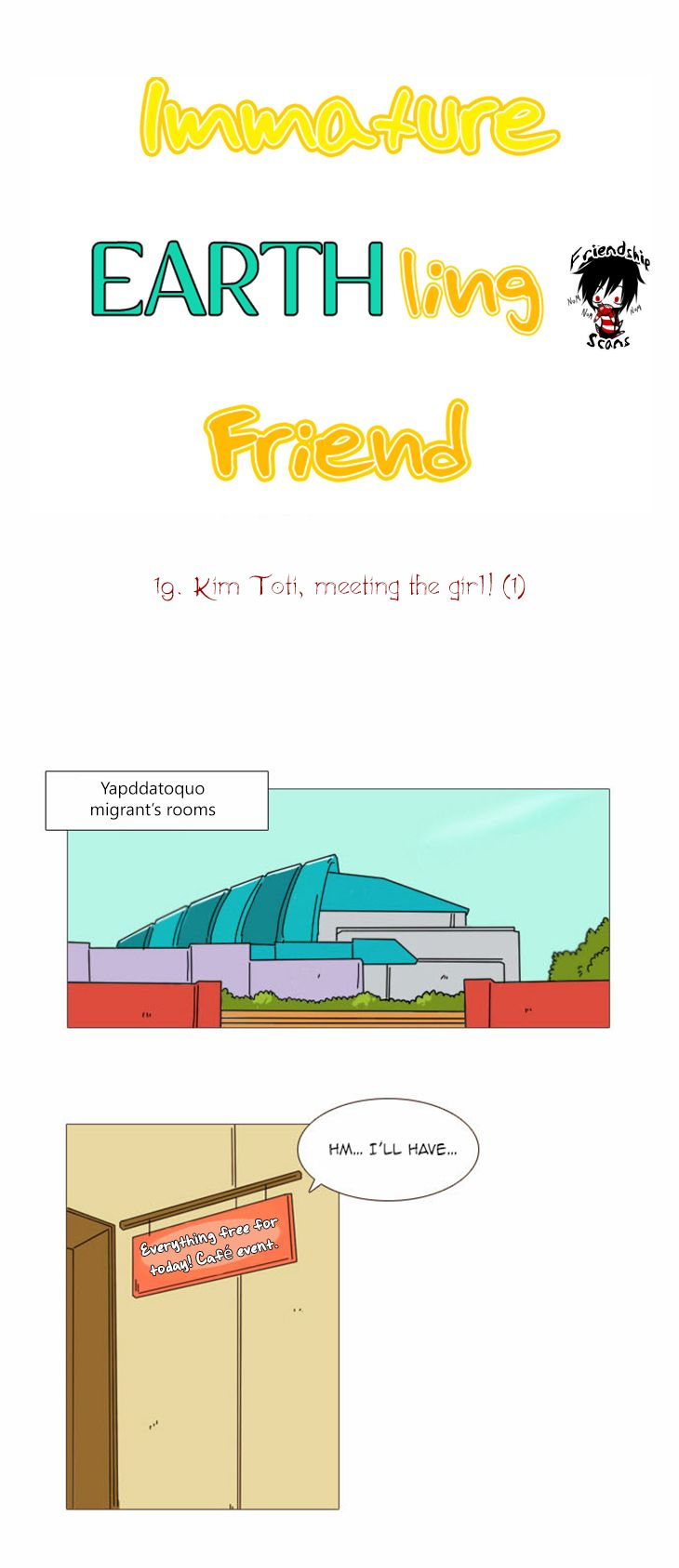 Immature Earthling Friend 19 Page 2