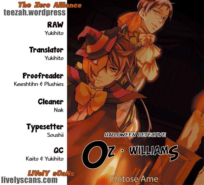 Halloween Tantei: Oz Williams 7 Page 1
