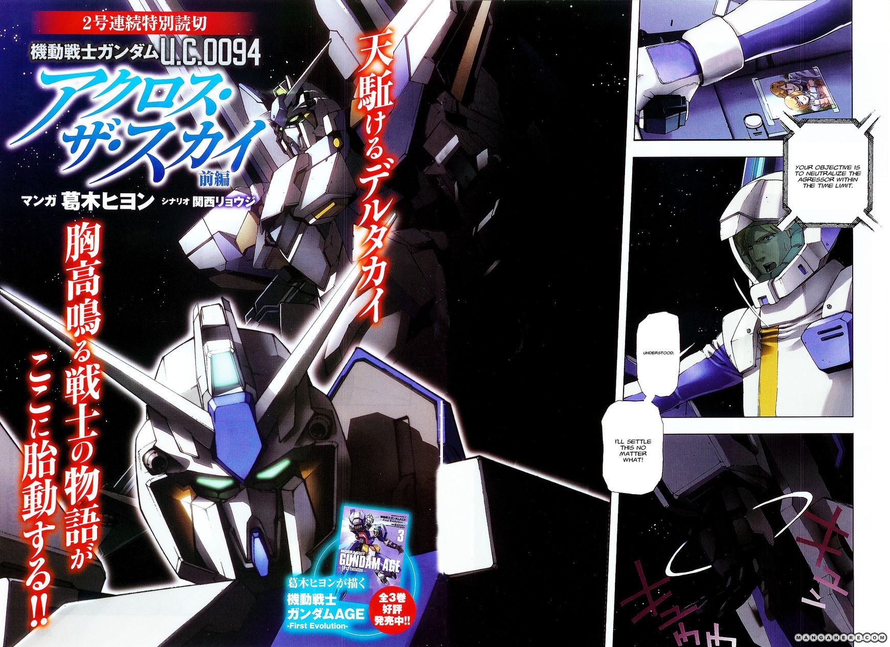 Kidou Senshi Gundam U.C. 0094 - Across the Sky 1 Page 2