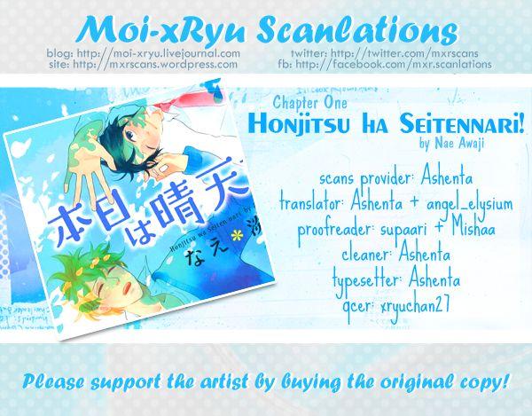 Honjitsu wa Seiten nari 1 Page 2