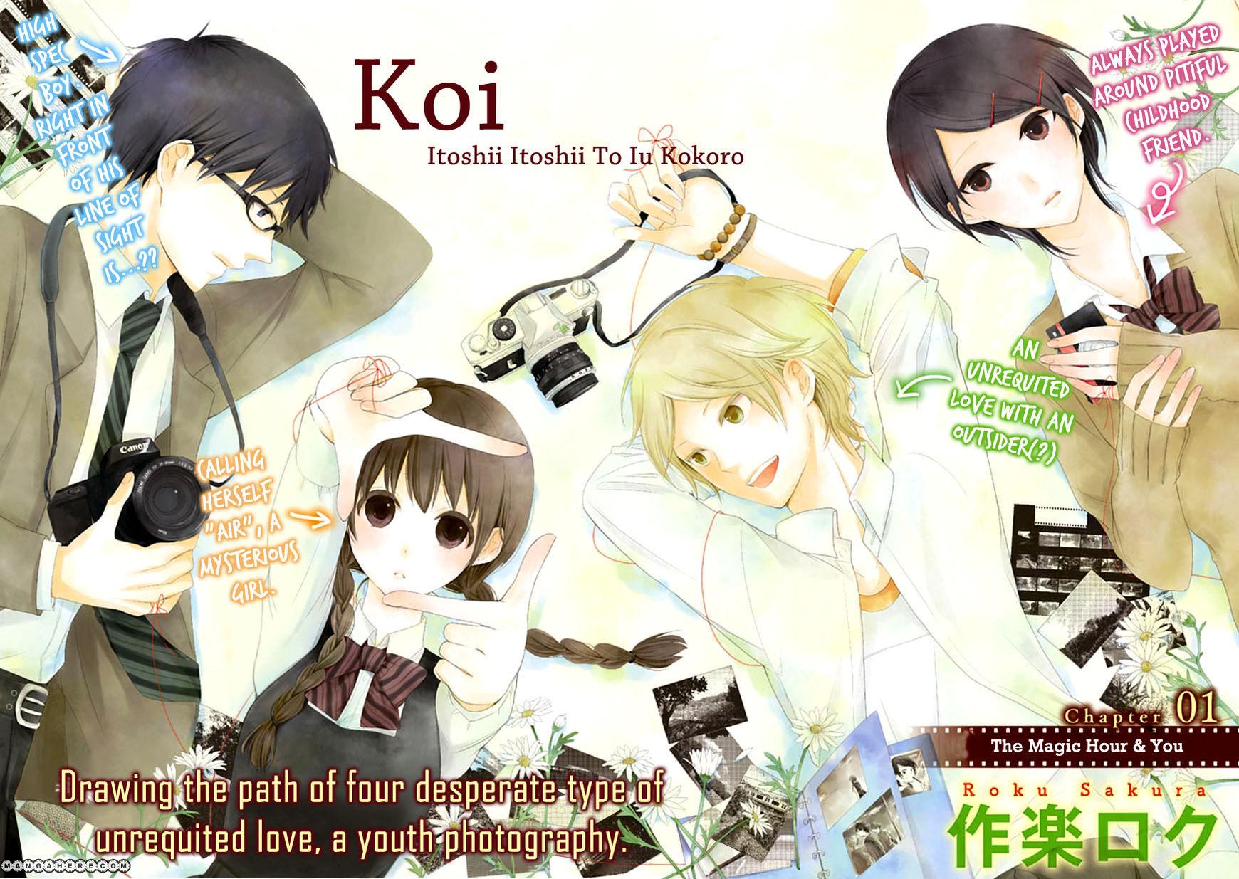 Koi. - Itoshii Itoshii to Iu Kokoro 1 Page 2