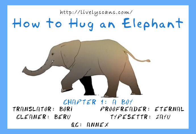 How to Hug an Elephant 1 Page 1