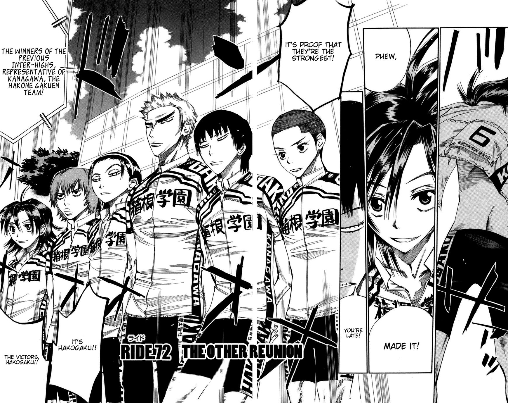 Yowamushi Pedal 72 Page 2
