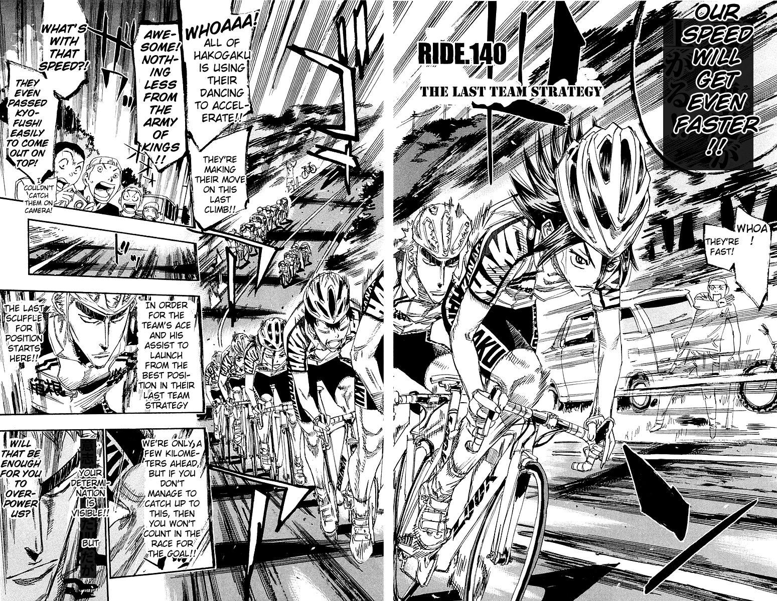 Yowamushi Pedal 140 Page 2