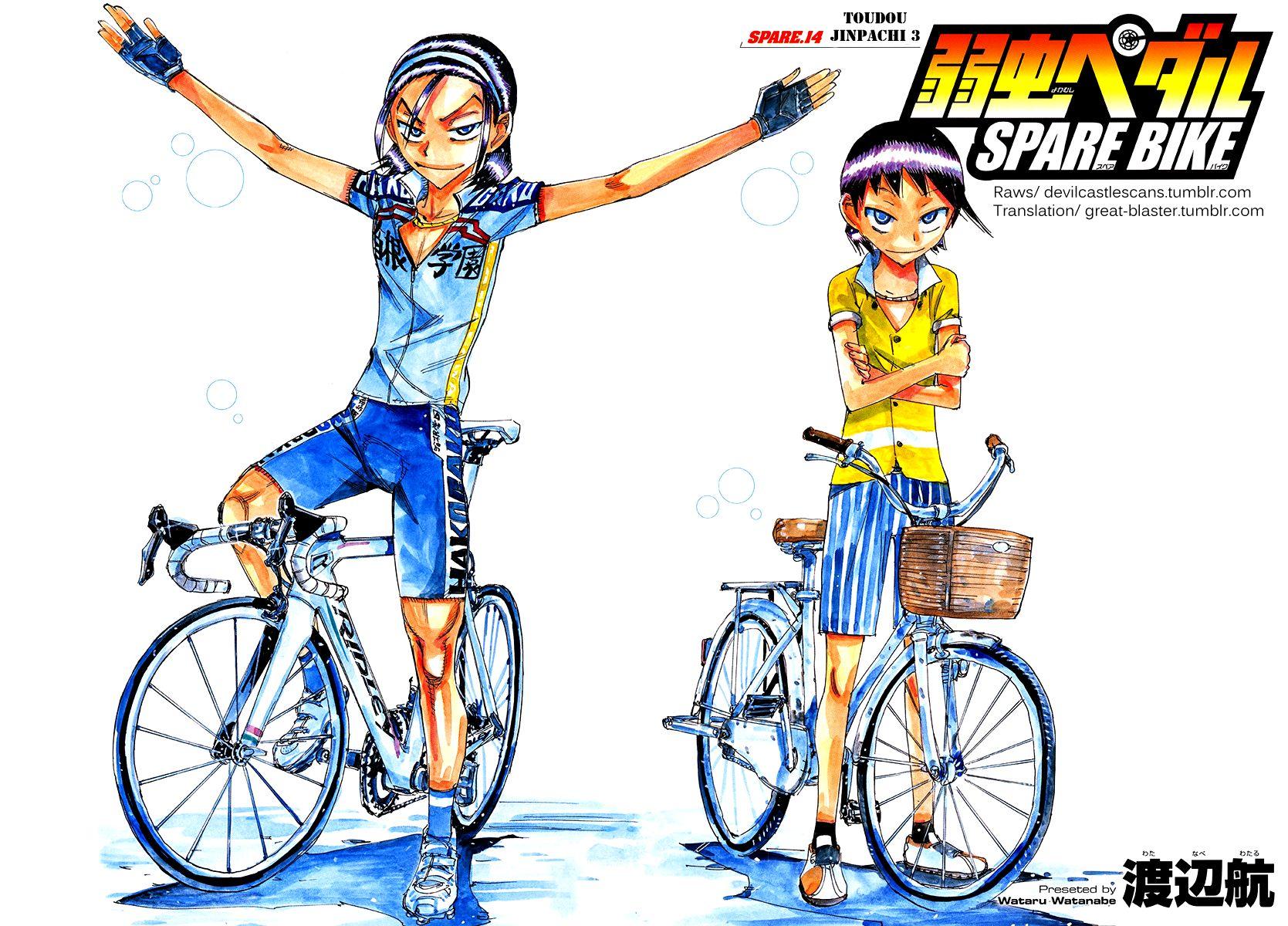 Yowamushi Pedal 154.3 Page 2