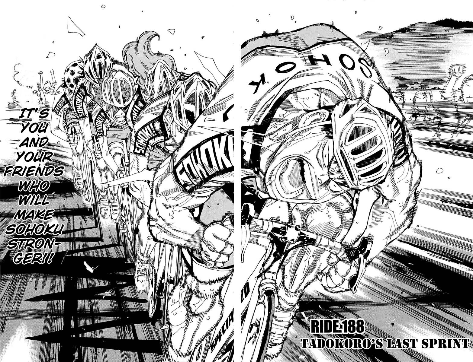 Yowamushi Pedal 188 Page 2