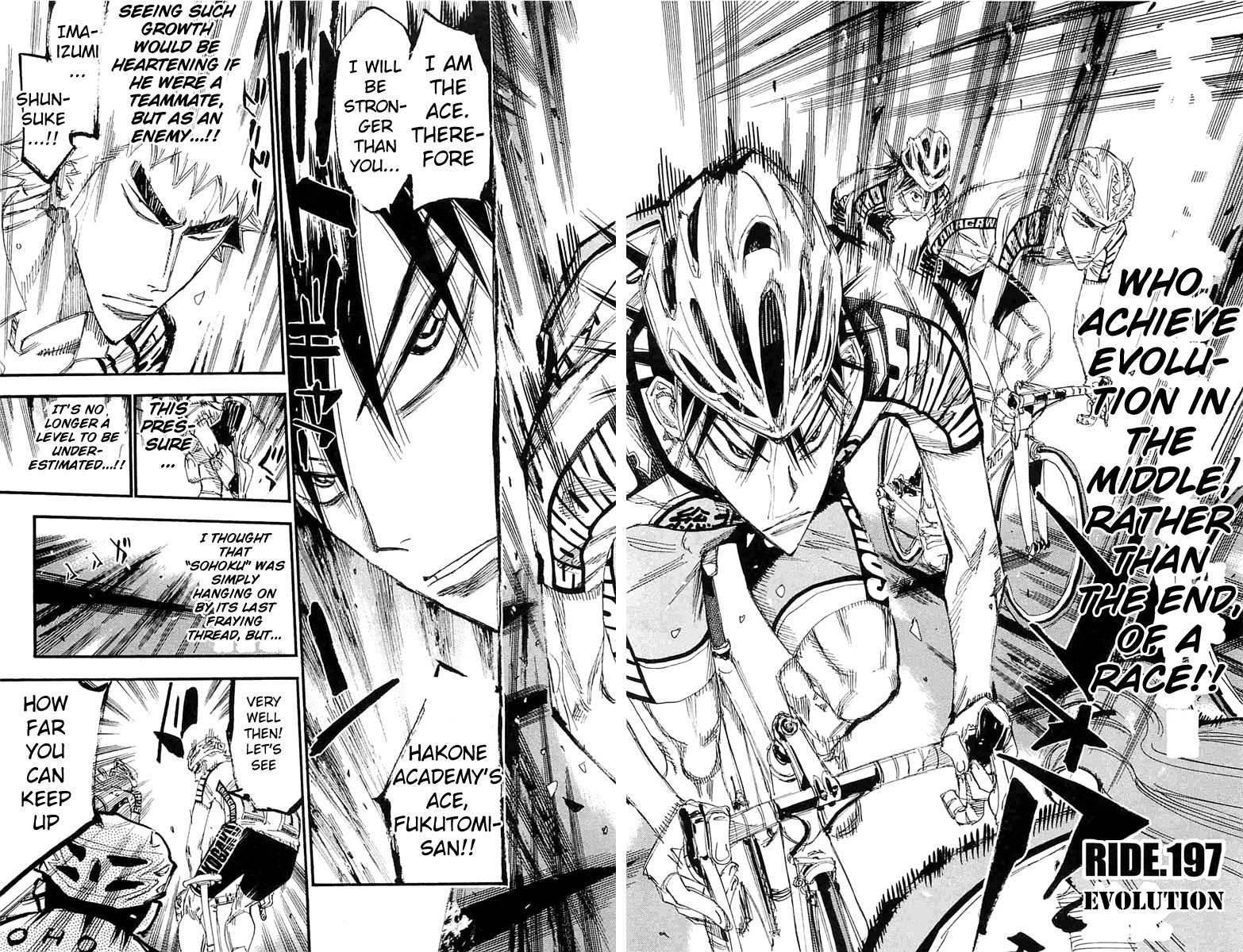 Yowamushi Pedal 197 Page 2