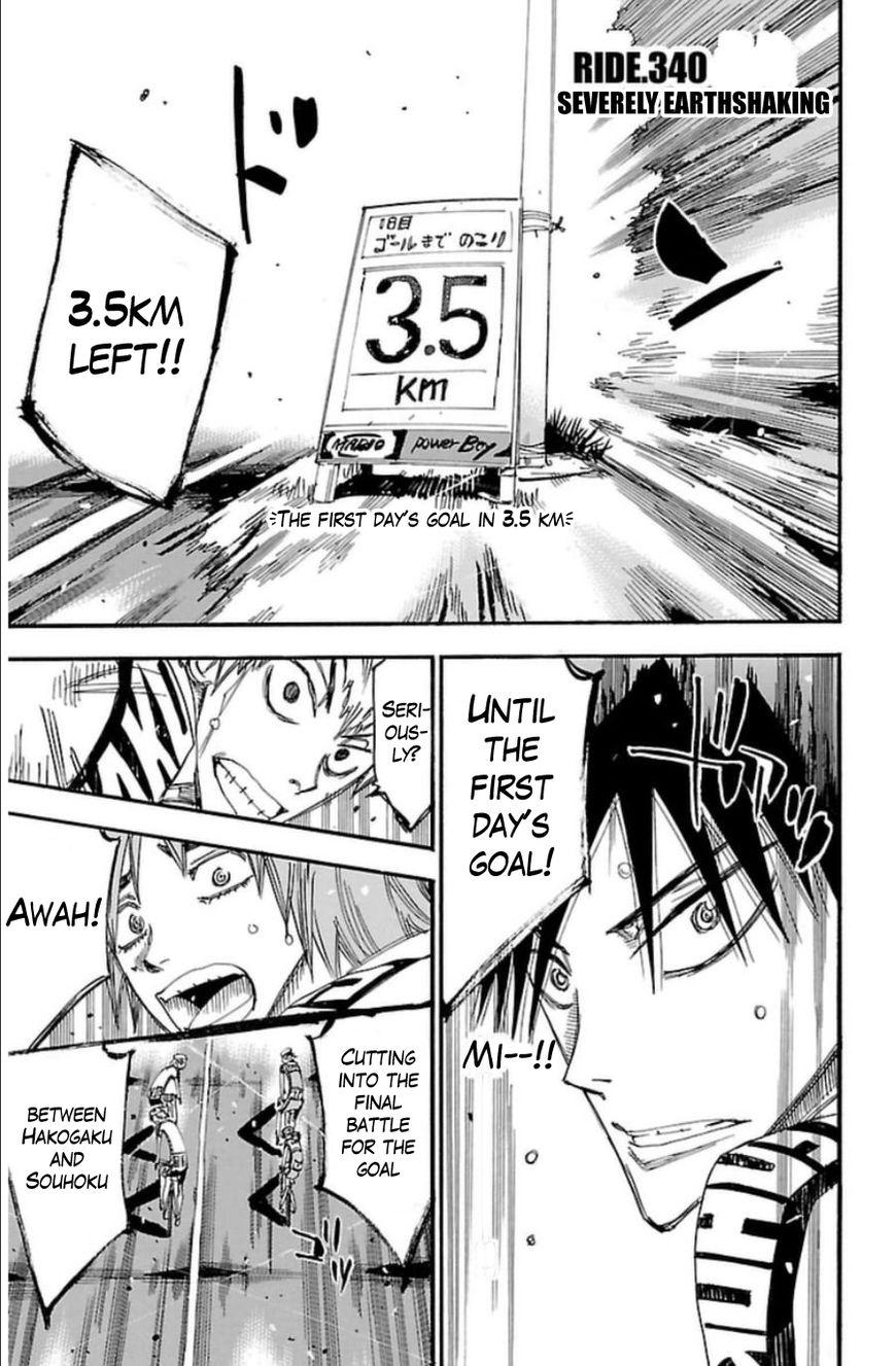 Yowamushi Pedal 340 Page 1