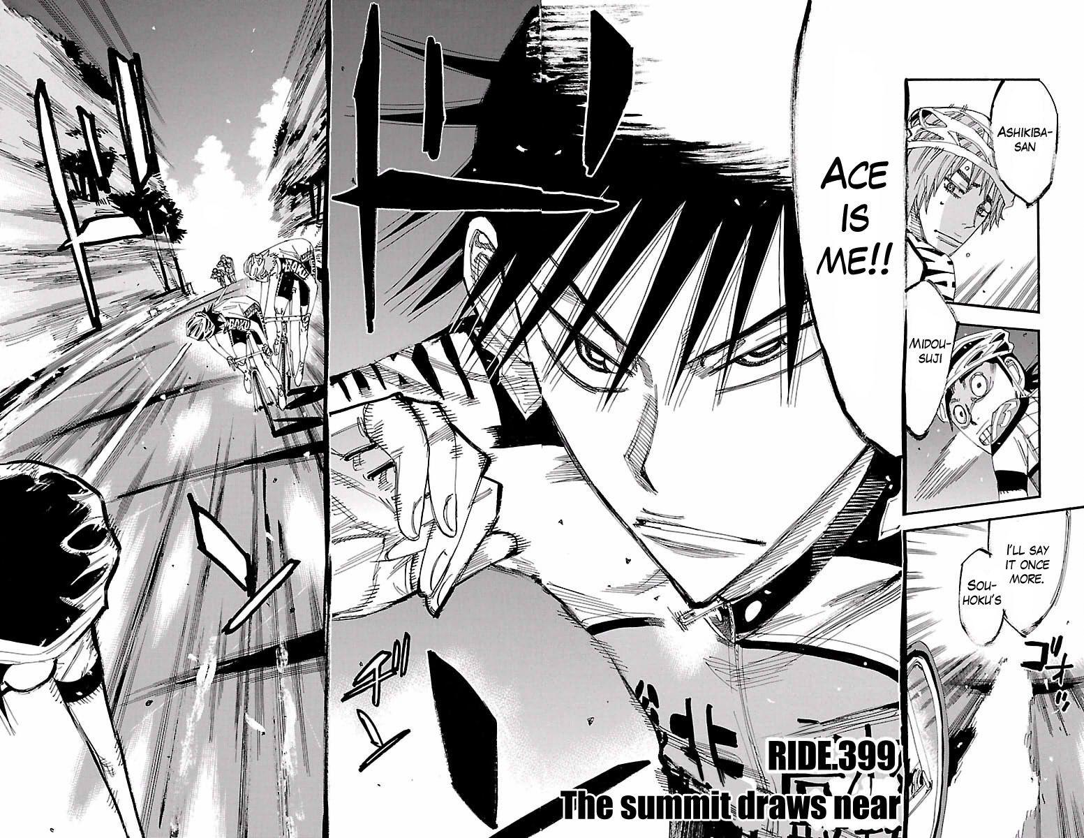 Yowamushi Pedal 399 Page 2