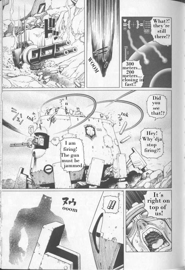 Battle Angel Alita: Last Order 21 Page 4