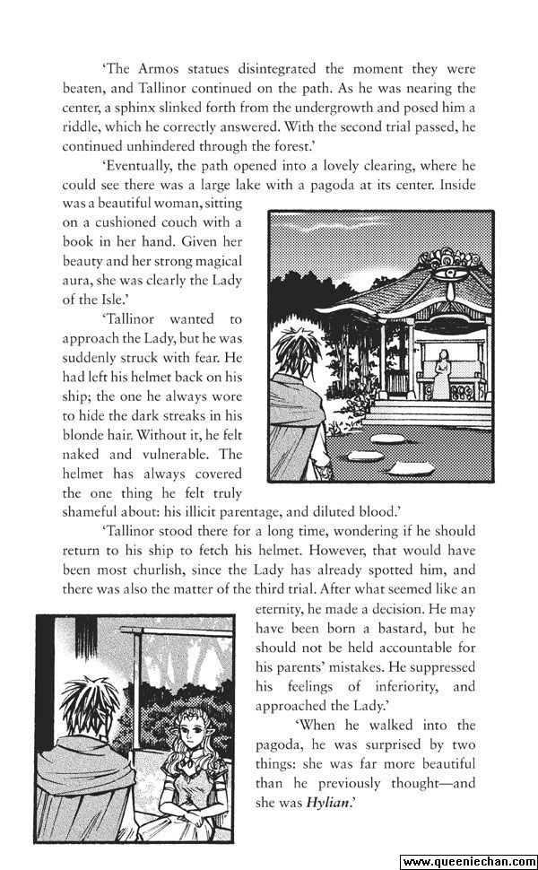 The Legend of Zelda: The Edge and The Light Manga 4.6 Page 1