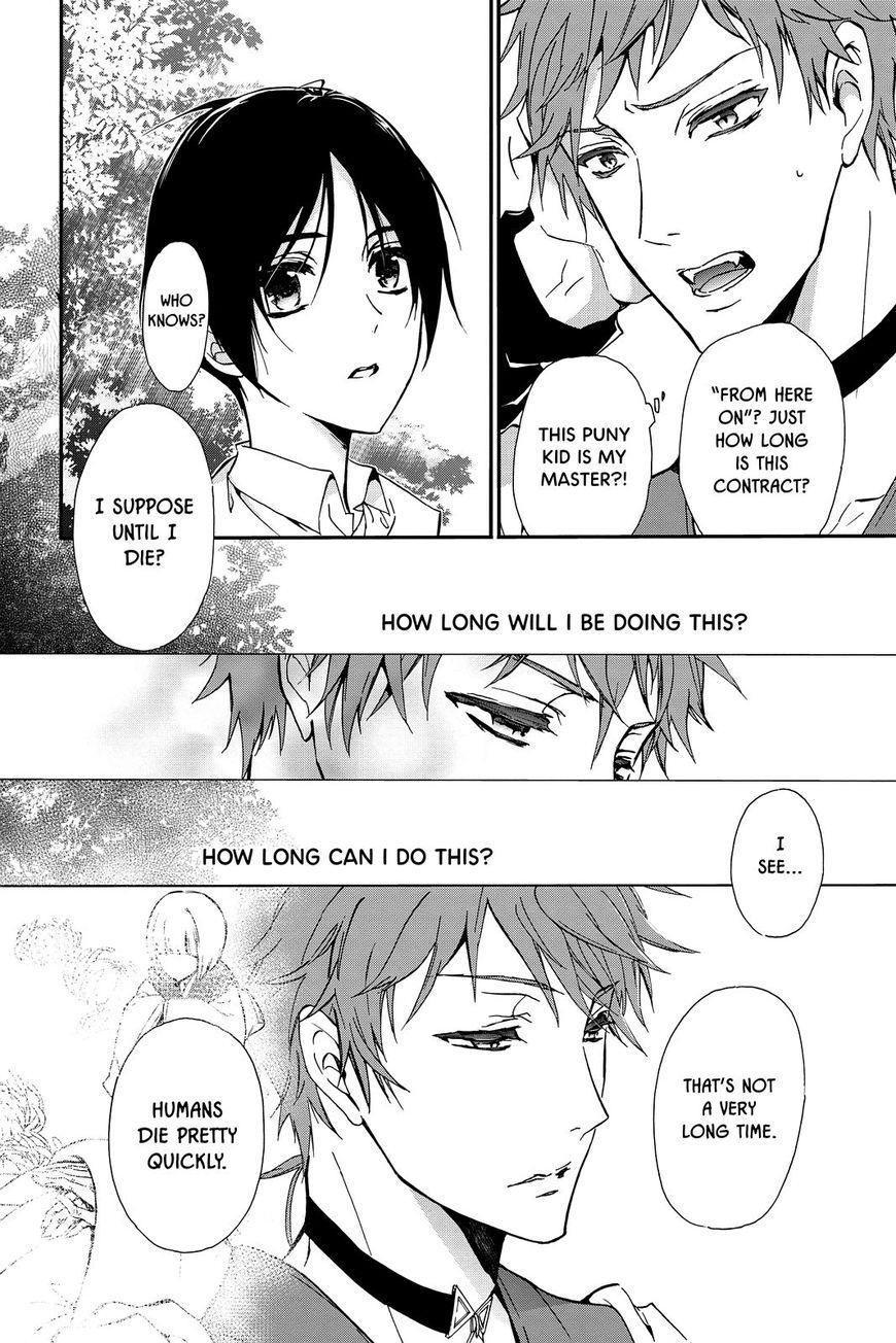 Momochi-san Chi no Ayakashi Ouji 38.5 Page 2