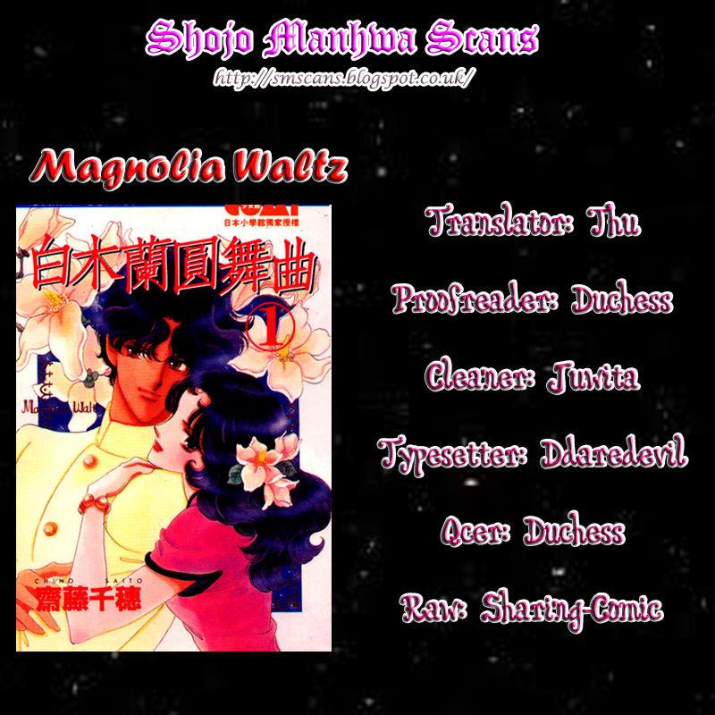 Magnolia Waltz 1 Page 1