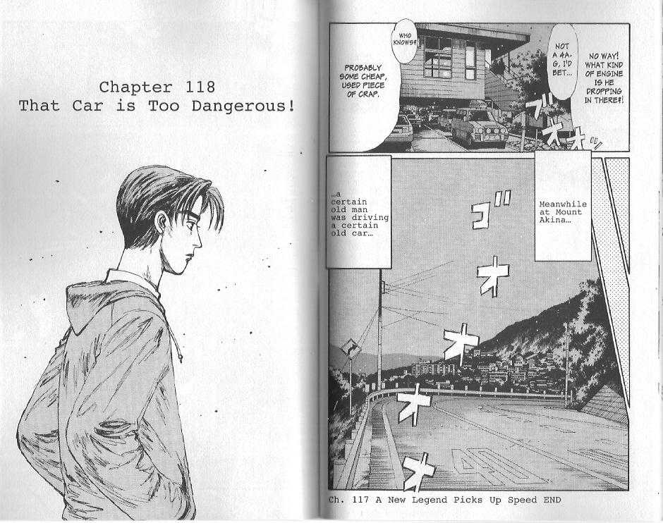 Initial D 118 Page 1