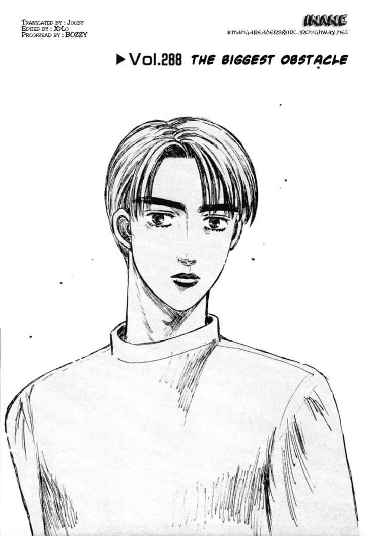 Initial D 288 Page 1