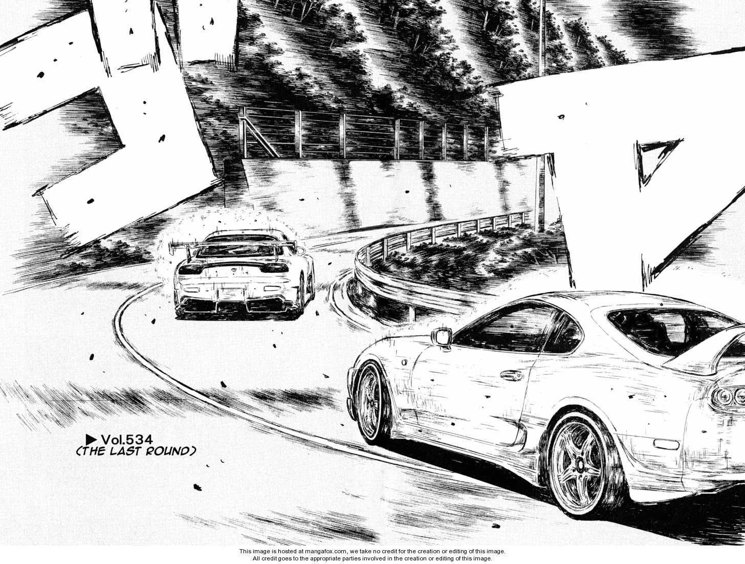 Initial D 534 Page 1