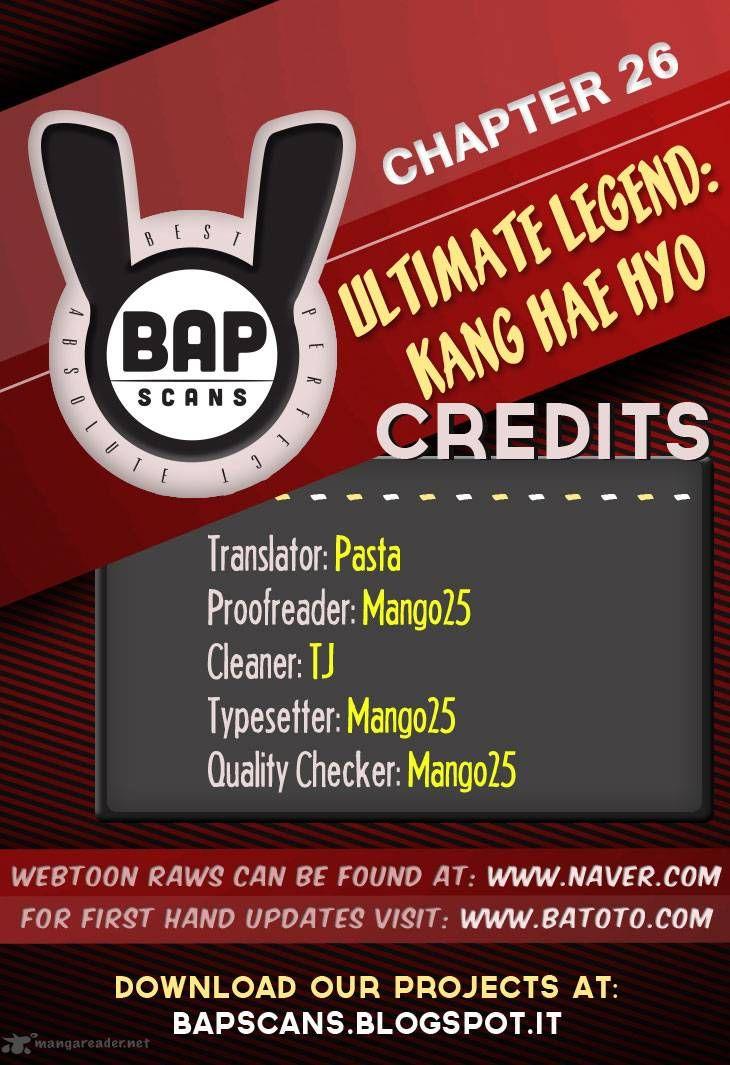Ultimate Legend: Kang Hae Hyo 26 Page 1