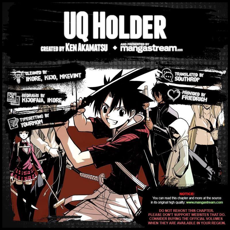 UQ Holder! 15 Page 2