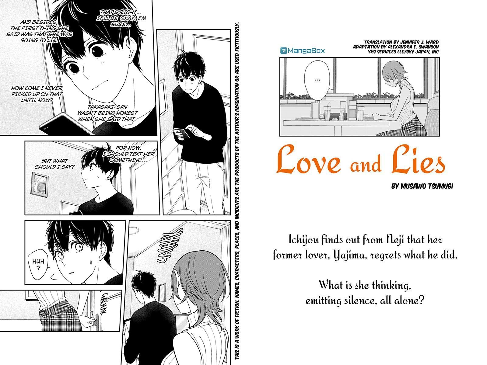 Koi to Uso 156 Page 1