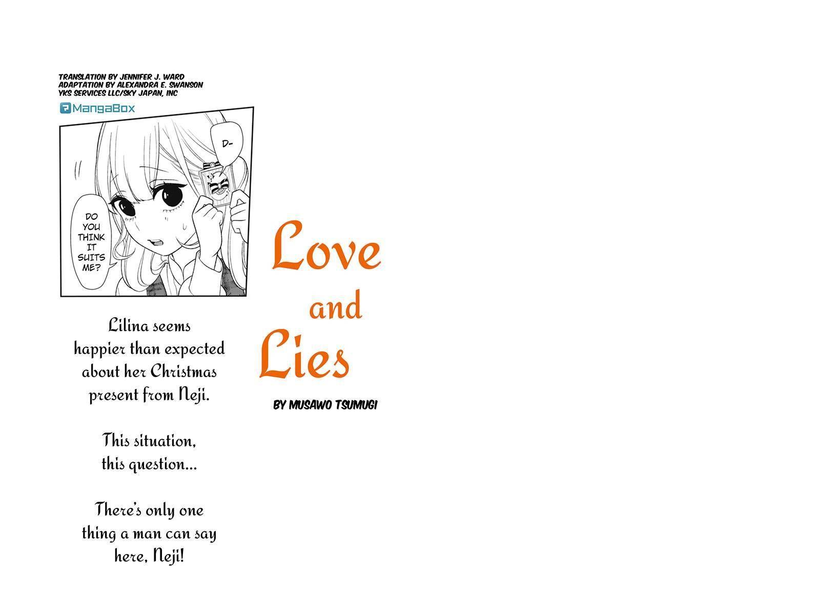 Koi to Uso 160 Page 1