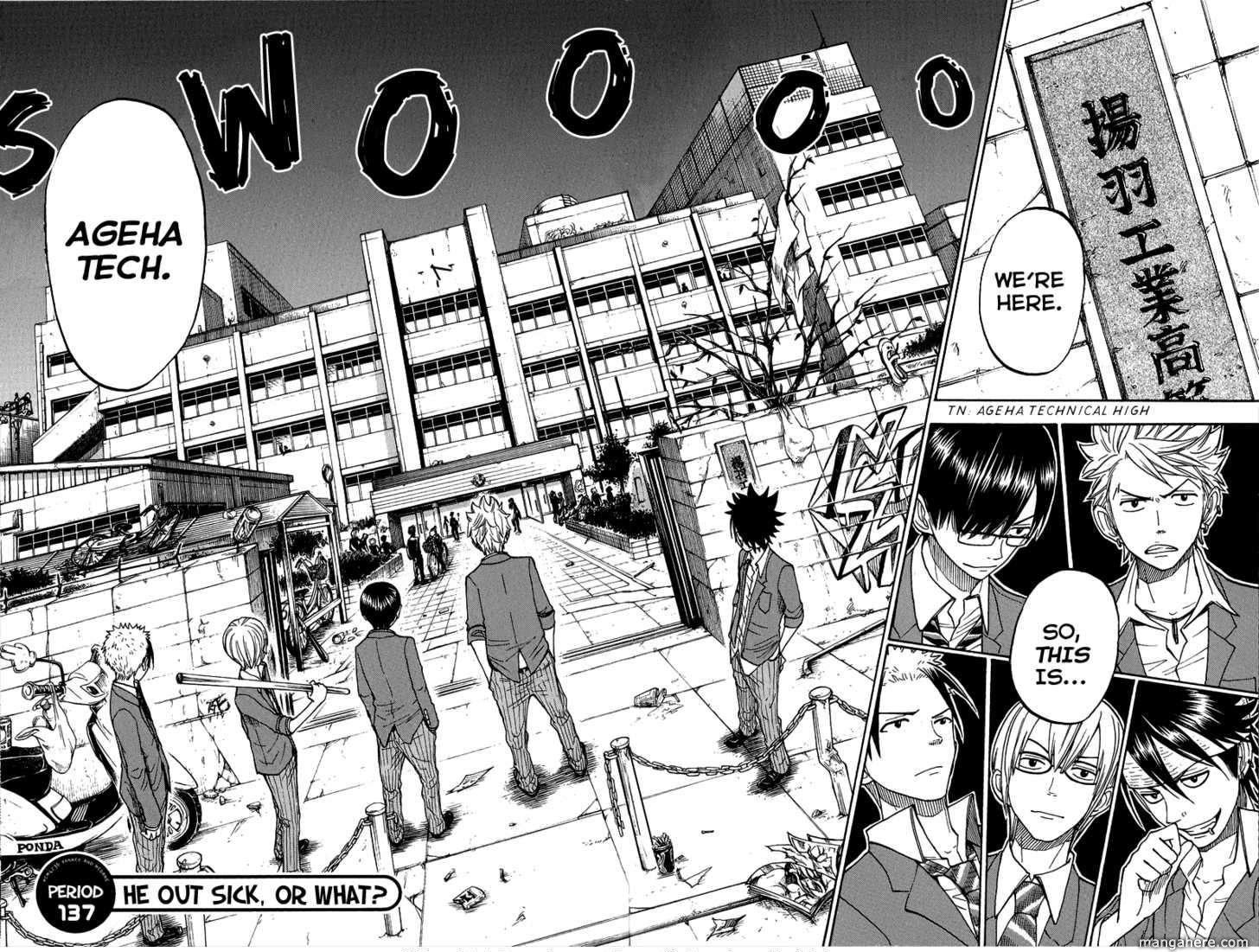 Yankee-kun to Megane-chan 137 Page 2