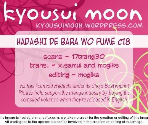 Hadashi de Bara wo Fume 18 Page 1