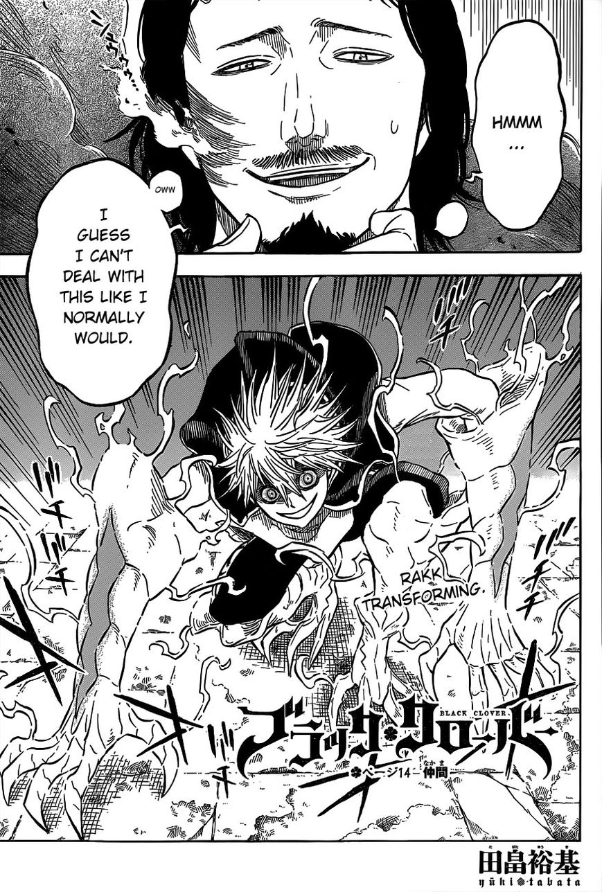 Black Clover 14 Page 1